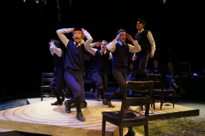 The boys of SPRING AWAKENING