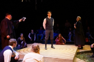 David Campbell, Chris Carson, Nancy von Euw and the Cast of SPRING AWAKENING